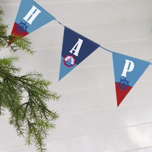 Ahoy There Bunting